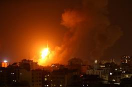 بيان لجيش الاحتلال حول قصف مواقع بغزة