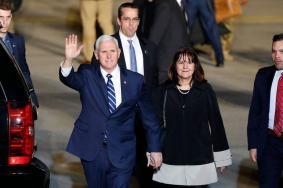 """نائب الرئيس الأمريكي يصل """"إسرائيل"""""""