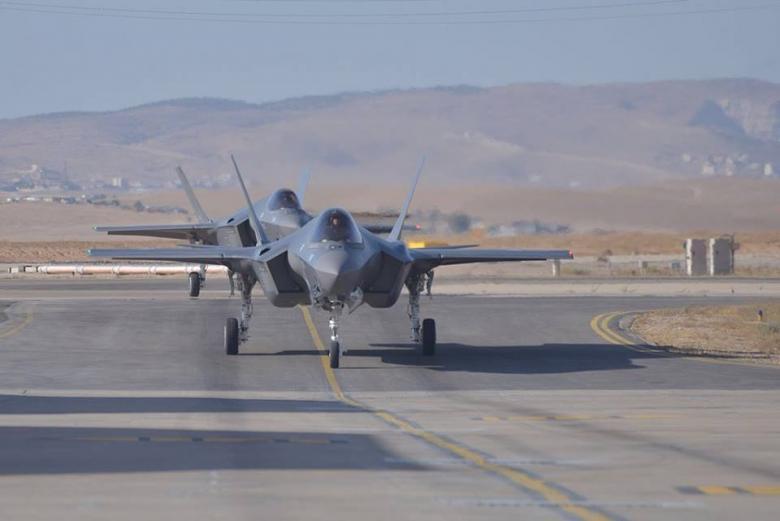 الولايات المتحدة ترسل 3 طائرات F35 لدعم جيش الاحتلال