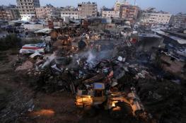 العمادي يعلن موعد صرف المنحة القطرية لمتضرري حريق النصيرات