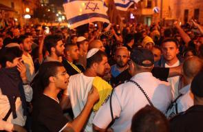 صور: متطرفون يطالبون بطرد العرب وقتلهم بمسيرة في القدس