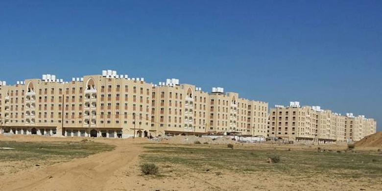 الأشغال تتسلم 320 وحدة سكنية في غزة مقدمة من تركيا