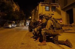 إصابة مواطنين واعتقال 8 مواطنين من الضفة المحتلة
