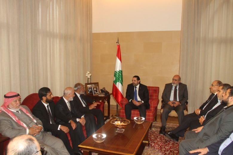 الحريري يرفض إدانة المقاومة الفلسطينية في الأمم المتحدة