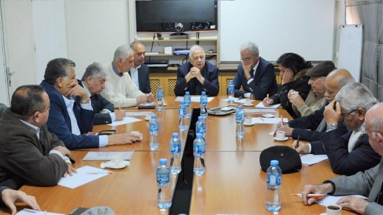 لجنة الانتخابات تجتمع لبحث عقد الانتخابات العامة