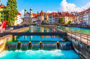 المدن السياحية في سويسرا
