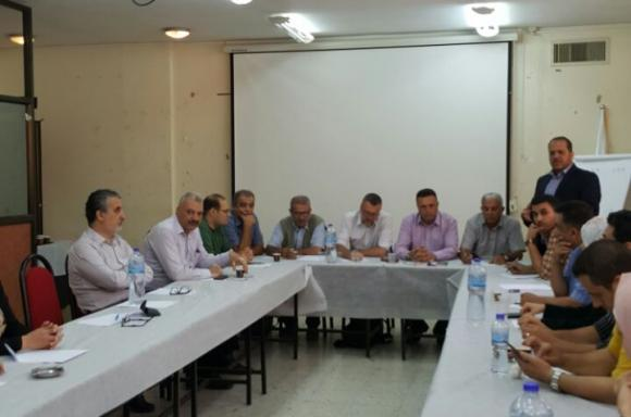 اجتماع يناقش قضايا الصحفيين في نابلس