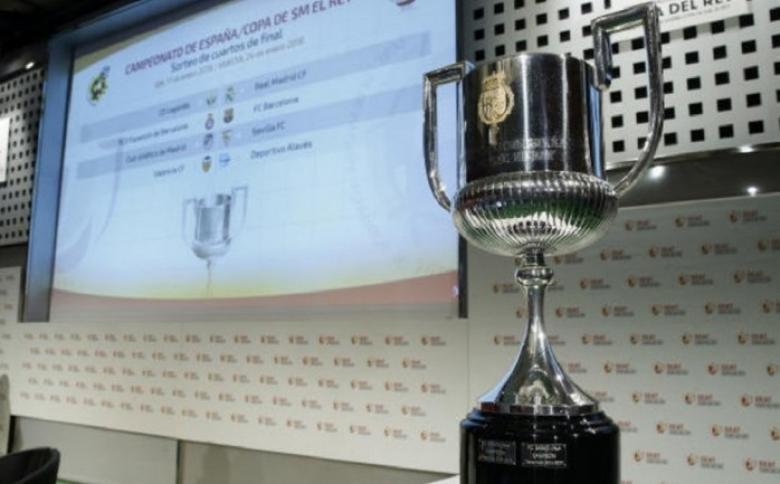 نتائج قرعة كاس ملك إسبانيا 2020 .. مواجهات سهلة للريال وبرشلونة