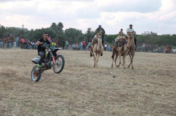 عرض الدراجات النارية شرق المحافظة الوسطى