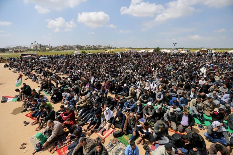 صلاة العيد ستقام في منطقتين مركزيتين بمخيمات العودة