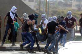 عشرات الإصابات خلال مواجهات مع الاحتلال بنابلس