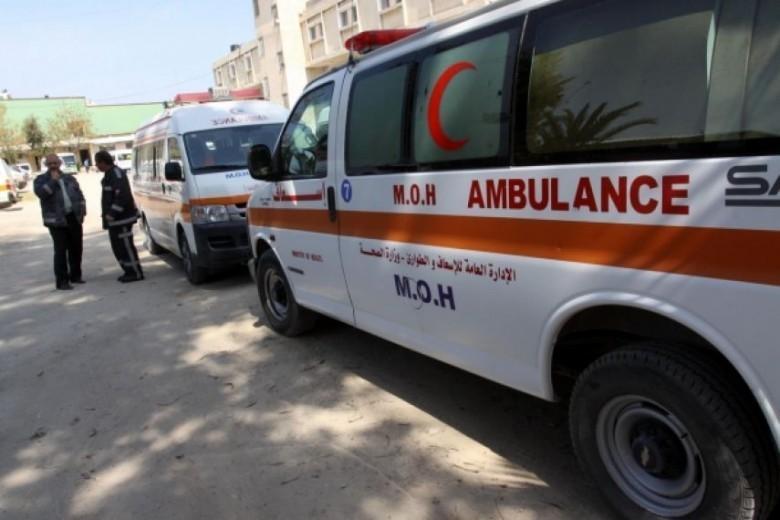 وفاة طفل بحادث سير غرب غزة اليوم