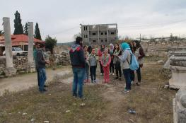 """""""السياحة"""": اقتحام الموقع الأثري بسبسطية يندرج ضمن مخطط استيطاني"""