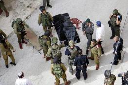"""الاحتلال يسلم جثمان الشهيدة """"العويوي"""" بالخليل"""