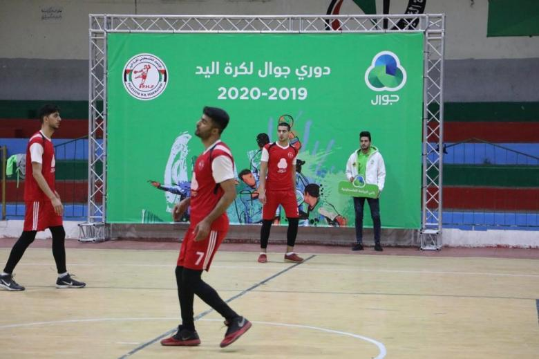استكمال منافسات بطولة دوري جوال لكرة اليد في قطاع غزة