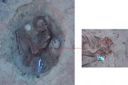 """الكشف عن دفنة لـ""""امرأة حامل"""" في منطقة غرب أسوان الأثرية"""