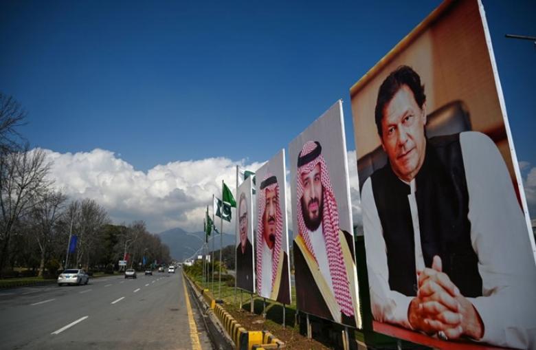 احتجاجات ضد زيارة ابن سلمان إلى باكستان