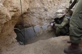 جيش الاحتلال يتدرب على أنفاق حماس الهجومية بالنقب