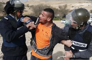 اعتداءات شرطة الاحتلال في قرية أم الحيران