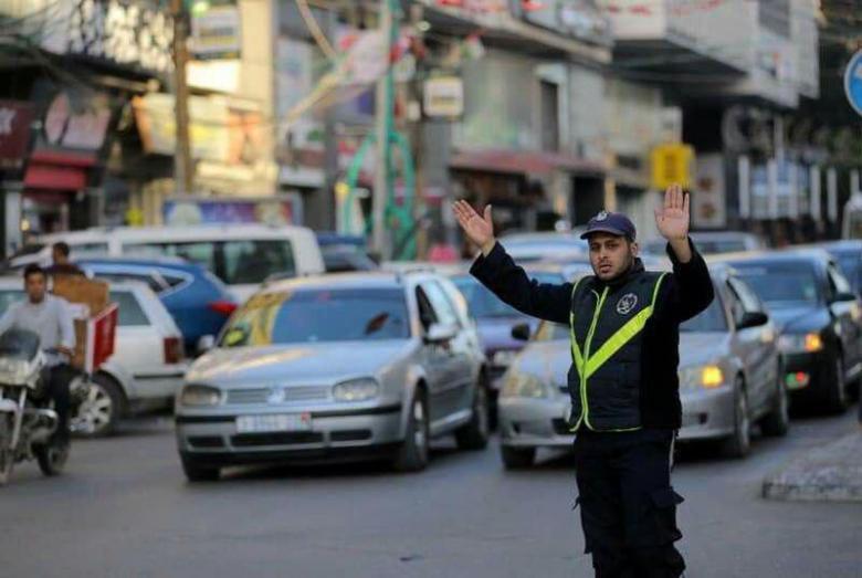 إعلان هام من شرطة مرور غزة لأصحاب السيارات المحجوزة