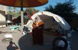 تواصل مخيمات راجع لبلادي وسط قطاع غزة