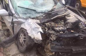 حادث سير نتيجة تصادم 3 مركبات بـطولكرم