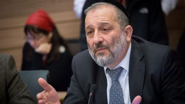 الشرطة الإسرائيلية توصي بتقديم أريه درعي للمحاكمة