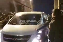 وصول المختطفين الأربعة إلى قطاع غزة بعد إفراج مصر عنهم
