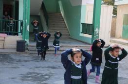 تربية الوسطى تنفذ مناورة اخلاء آمن بمدرسة ابن زيدون الأساسية المشتركة