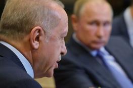 أردوغان: أطلعت بوتين على العملية التركية في سوريا بالتفصيل