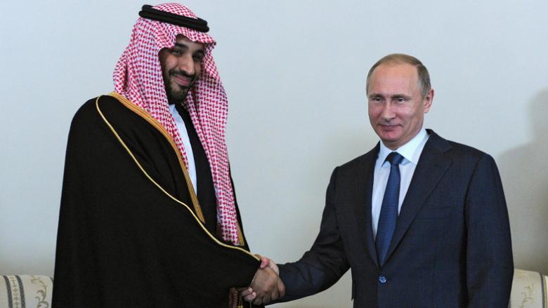 ولي العهد السعودي يزور روسيا للاجتماع ببوتين