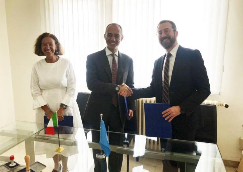 إيطاليا تتبرع بمبلغ 1,9 مليون يورو لبرنامج الأونروا الصحي بغزة