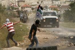 حالات اختناق خلال قمع الاحتلال لمسيرة كفر قدوم