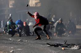 اندلاع مواجهات عنيفة مع الاحتلال شمال الخليل