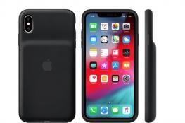 آبل تطلق أغطية ذات بطارية لهواتف iPhone XR وiPhone XS