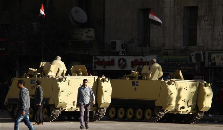 تمديد حالة الطوارئ في مصر 3 أشهر