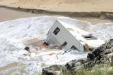 """العاصفة """"علي"""" تضرب بريطانيا: قتلى وانقطاع للكهرباء"""