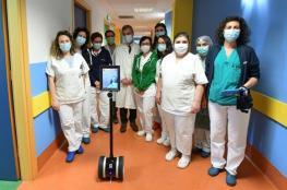 الروبوتات تنقذ أطباء إيطاليا وتساعدهم بمعاينة مرضى كورونا