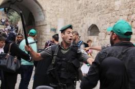 الاحتلال يمنع حارسا من دخول المسجد الأقصى