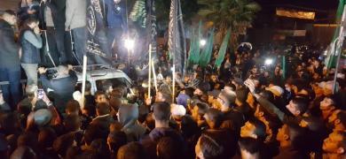 فرحة الجماهير في خانيونس بعد انتصار المقاومة