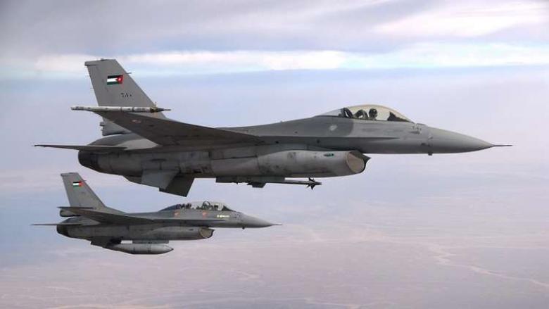 15 مقاتلة F16 هولندية تصل الأردن