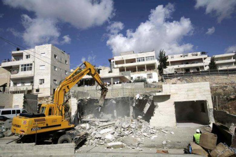 هدم منزل مواطن فلسطيني شرقي القدس