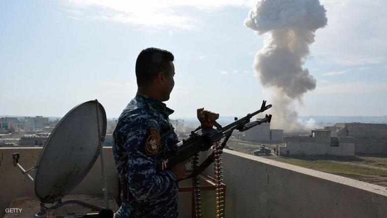 8 قتلى من قياديي داعش في غارة للتحالف بالموصل
