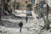 كيري يحذر الأسد من عدم الالتزام بهدنة في حلب