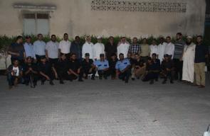 نواب الوسطى وقيادة حماس يتفقدون مراكز شرطة المحافظة