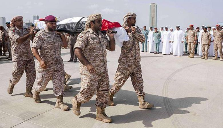 الإمارات تعلن مقتل 4 من جنودها في اليمن