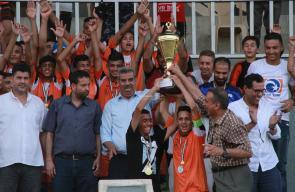 اتحاد خانيونس وشباب رفح في المباراة النهائية لبطولة الناشئين