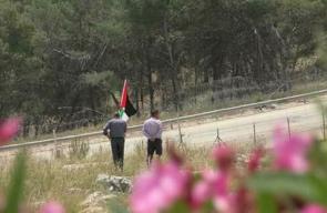 المواجهات التي اندلعت بين الشبان وقوات الاحتلال في قرية بدرس