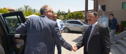 جامعة فلسطين تستقبل سفير دولة النرويج لدى فلسطين