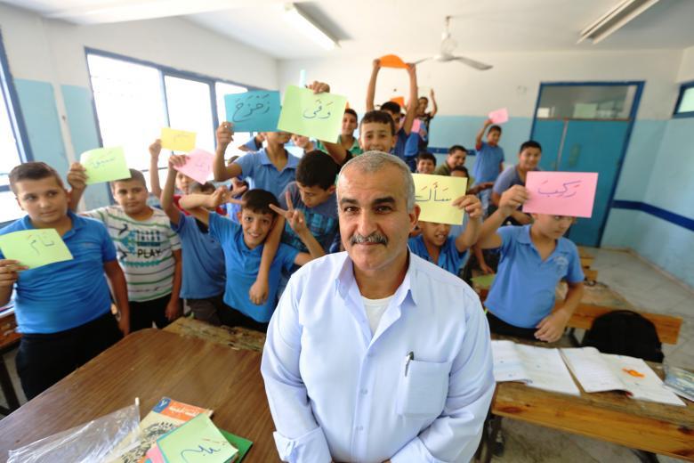 164 معلماً بالأونروا في مهب الريح بالضفة